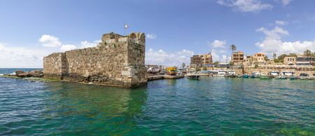 Byblos, Lebanon - one of the oldest continuously inhabited cities in the world,  the Old Town of Byblos displays a wonderful harbor, once used by Romans, Phoenicians and Ottomans
