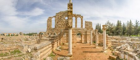 Anjar, Lebanon - at the border with Syria and almost entirely inhabited by Armenians, the village of Anjar is famous for its Umayyad Caliphate ruins