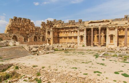 Baalbek, Lebanon - place of two of the largest and grandest Roman temple ruins,  Baalbek is one the main attractions of Lebanon