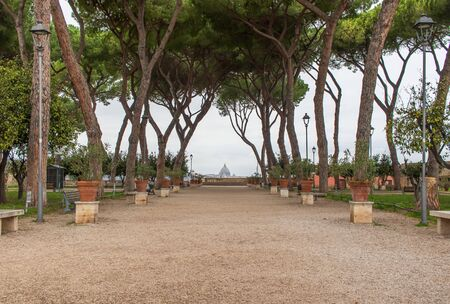 Following the coronavirus outbreak, the Italian Government has decided for a massive curfew, leaving even the Old Town, usually crowded, completely deserted. Here in particular the Orange Garden