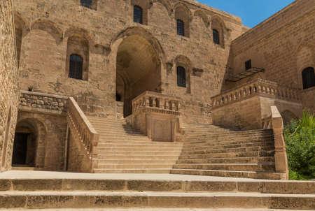 Mardin, Turkey - few kilometers away from Mardin, the Deyrulzafaran Assyrian Monastery is one of the best preserved examples of Syriac Orthodox monastery in the world