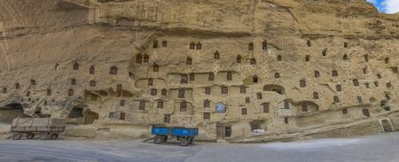 Taskale, Turkey - Taskale is a small and colorful village in Central Anatolia, famous for its barn carved in the rock