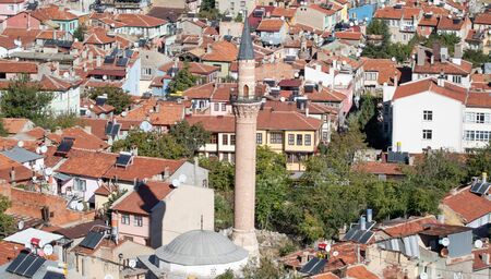 Afyonkarahisar, Turkey - a city famous for its thermal baths, Afyonkarahisar displays a many wonderful spots. Here in particular the typical ottoman Old Town