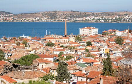 Ayvalik, Turkey - a splendid village on the Aegean coast of Turkey, Ayvalik is presents a wonderful display of typical ottoman houses, with their red roofs