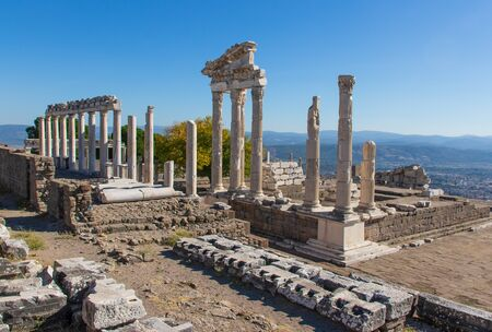 Pergamon, Turkey - one of the best preserved ancient Greek and Roman ruins, Pergamon presents an amazing display of temples, amphitheaters, columns and sanctuaries