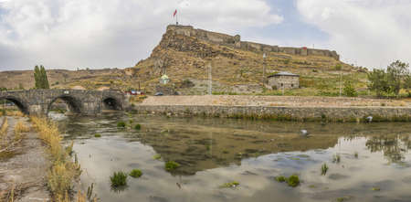 Kars, Turkey - one of the main cities of Eastern Anatolia, Kars displays turkish, kurdish and armenian heritage. Here in particular the Castle of Kars
