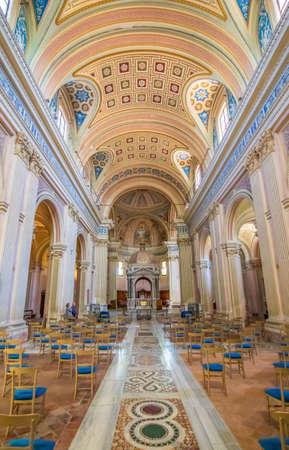 Rome, Italy - home of the Vatican and main center of Catholicism, Rome displays dozens of historical, wonderful churches. Here in particular the Santi Bonifacio and Alessio basilica