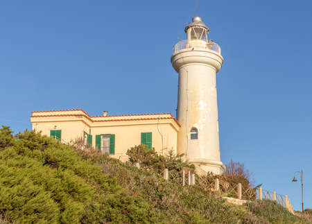 Mount Circeo, Italy - a wonderful peak which is famous among trekkers and hikers, Mount Circeo is a promontory located few mililometers South of Rome. Here in the picture the local lighthouse