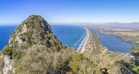 Mount Circeo, Italy - a wonderful peak which is famous among trekkers and hikers, Mount Circeo is a promontory located few mililometers South of Rome. Here's the stunning view from the top