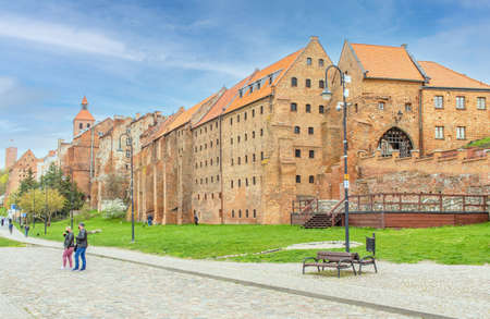 Grudziadz, Poland - located 60km from Gdansk, on east shore of river Vistula, Grudziadz is a wonderful town highlighted by the fortified granaries, declared a National Historic Monument of Poland