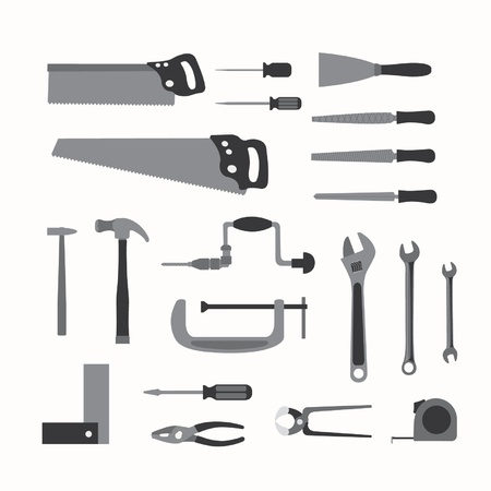 rasp: Basic hand tools Illustration