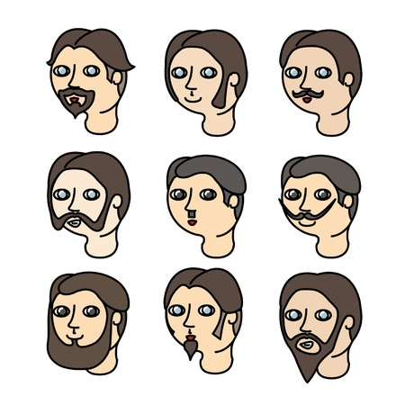 impregnable: Different Types of Moustache