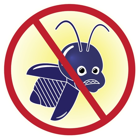 Cartoon Bug free icon Illustration