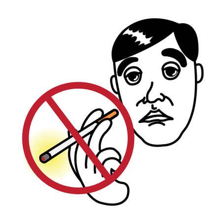 Man with No Smoking icon