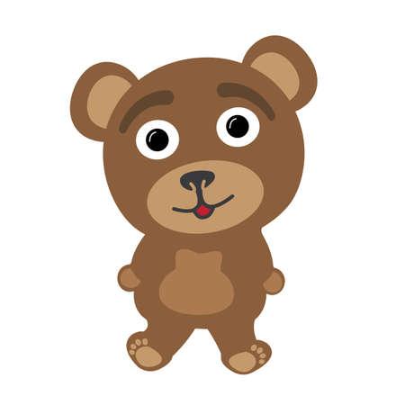 Little bear smiling