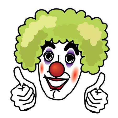 Joker smiling and thumb up