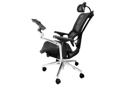 ergonomic: luxury ergonomic office chair with notebook stand