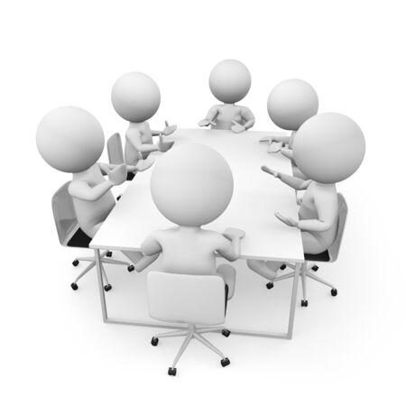 communicate  isolated: team business render