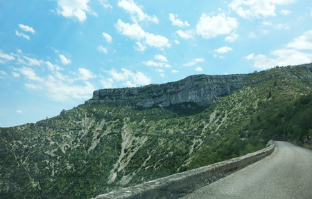 Cirque de Navacelles.The Cirque de Navacelles is large erosional landform, an incised meander, located towards the southern edge of the Massif Central mountain range in France. It is located near Sain