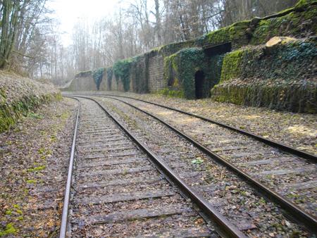 Railway in Luxembourg , Europe