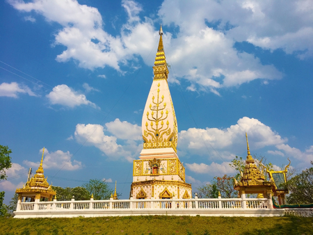 Buddhist temple in Loei, Thailand Stock Photo