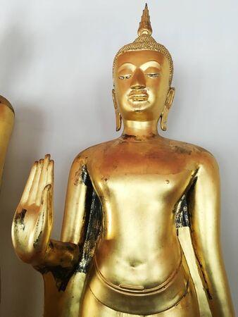 Golden Buddha, Wat Pho, Temple in Bangkok,Thailand
