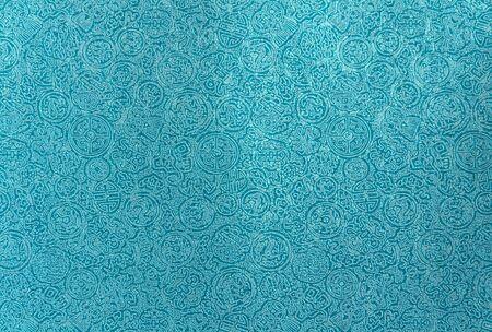 Light blue chinese pattern background Standard-Bild