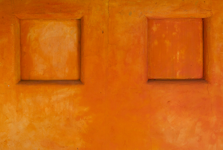 wall design: Orange wall design