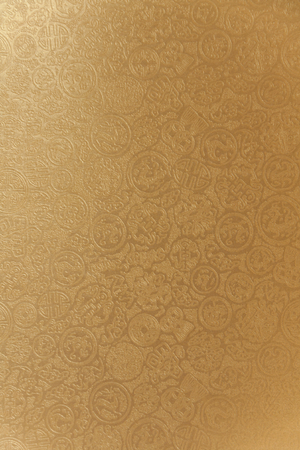 Shiny Chinese pattern paper vertical