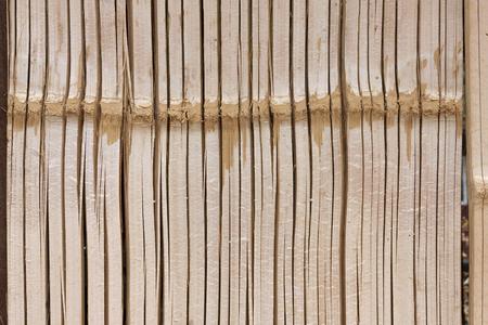 Closeup bamboo natural texture background photo