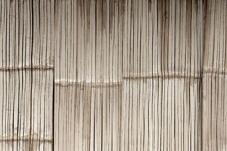 Vintage tone style bamboo texture wall horizontal photo