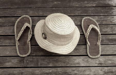 Vintage tone style summer garden tool