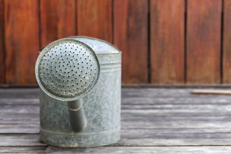 watering pot: Watering pot from front background horizontal style