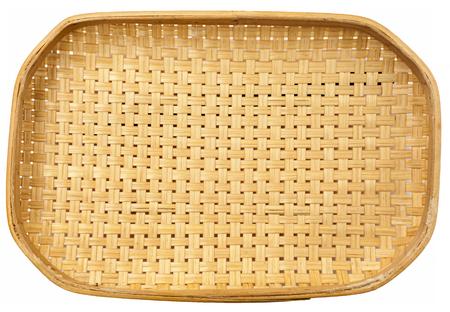 natural color: Natural color bamboo tray pattern