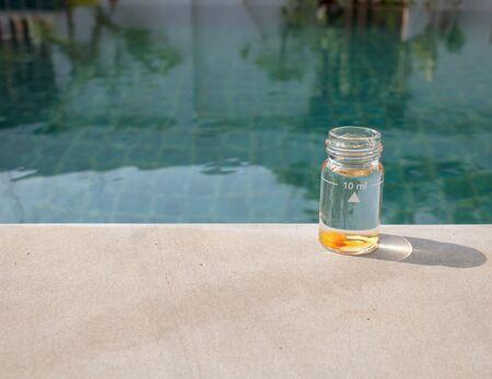 balanza de laboratorio: Centro de pruebas de agua