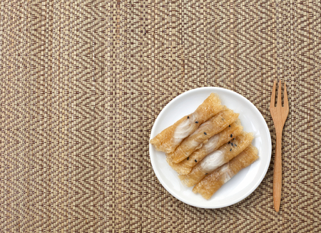 placemats: Thai sweet with space on thai style placemats pattern