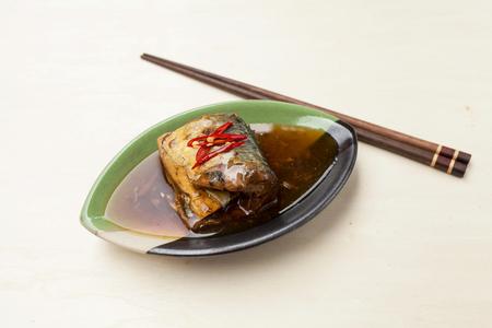 teriyaki: Saba fish in teriyaki sauce