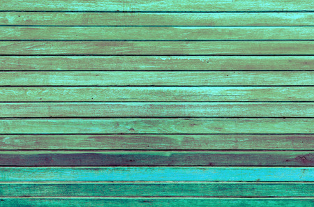 green tone: Vintage green tone wood wall background Stock Photo