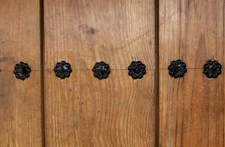 korean design: Wooden door Korean design background horizontal style