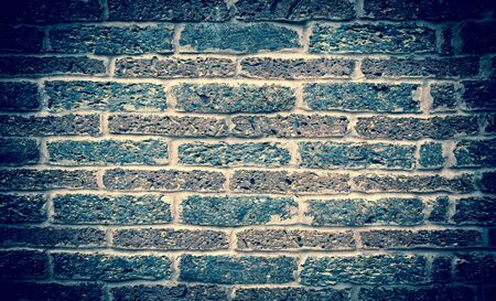 bricks background: Vintage tone brick wall background