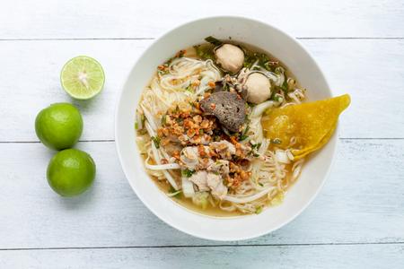 yum: Thai style Tom Yum noodle soup