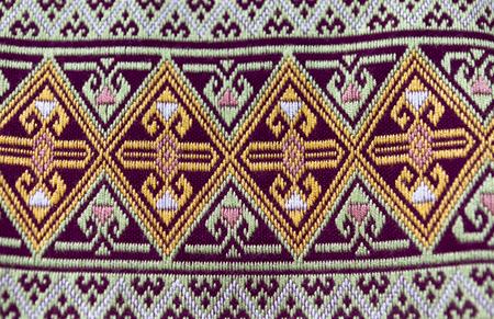 sarong: Traditional thai sarong pattern Stock Photo