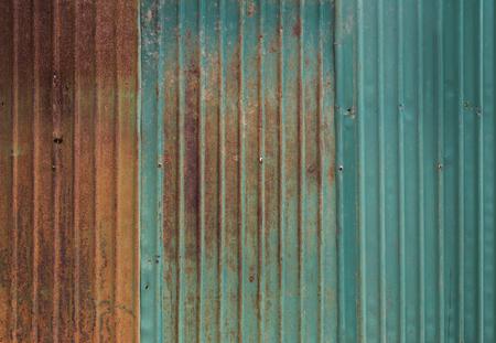 metal wall: Rusty metal wall background Stock Photo