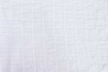 Abstract white fabric texture background, blank white fabric pattern design background