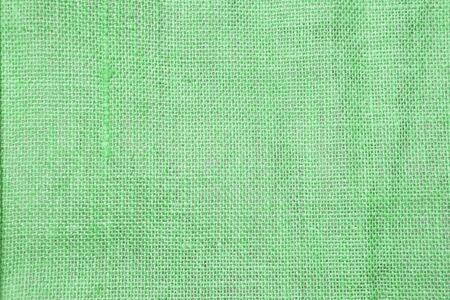 Abstract closeup green hessian texture background, hessian fiber pattern background