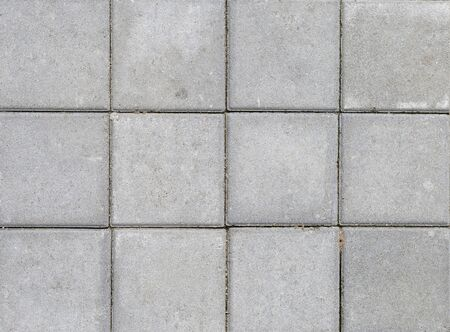 Design grey cement wall background, squre pattern cement floor background
