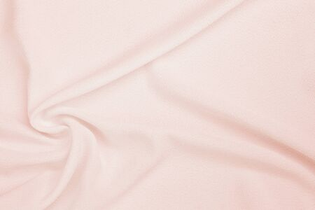 Abstract wavining pink fabric texture background, blank pink waving fabric pattern background
