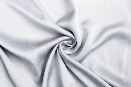 Grey fabric pattern background, design waving grey fabric texture background