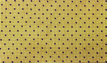 Abstract seamless yellow fabric pattern background, blank design yellow  fabric with blue dot  background