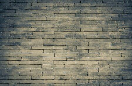 Dark brick wall pattern background, vintage tone style 版權商用圖片